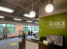 Edge Physical Therapy Clinic Interior