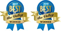 2017 & 2019 Best of the Valley Winner - Physical Therapy